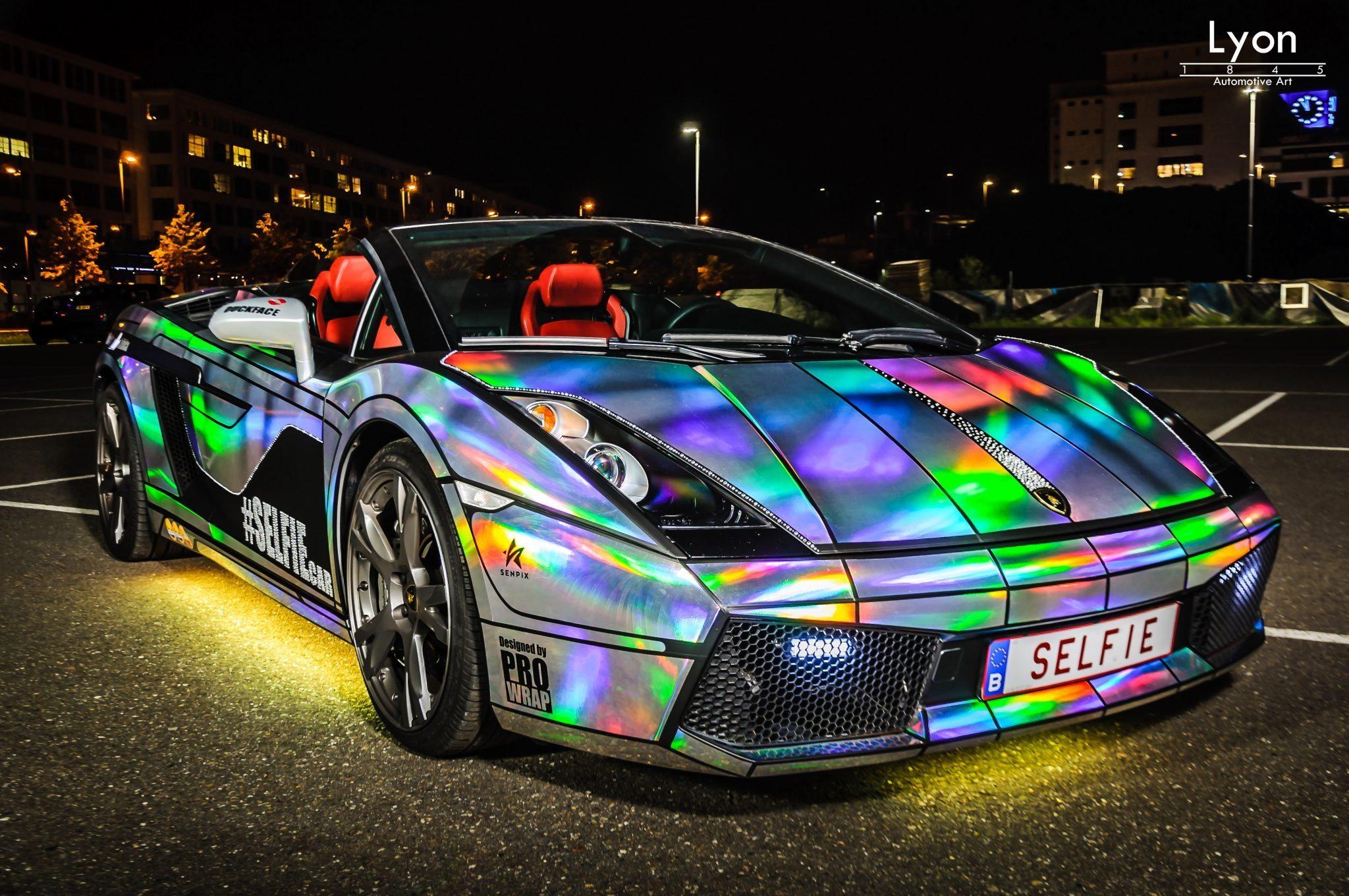 Unieke Creatie Lamborghini Gallardo Spyder Selfiecar