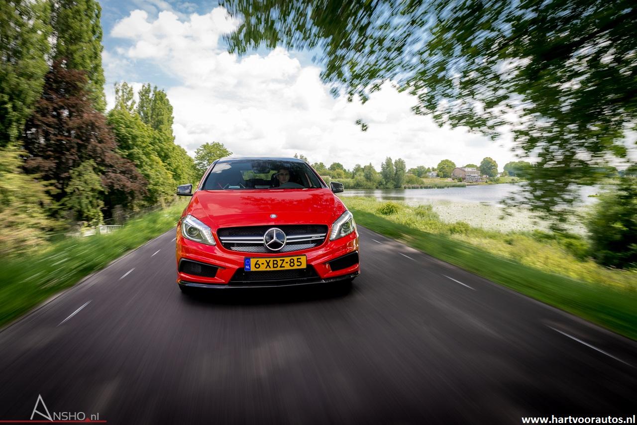 Mercedes-Benz A45 AMG - www.hartvoorautos.nl
