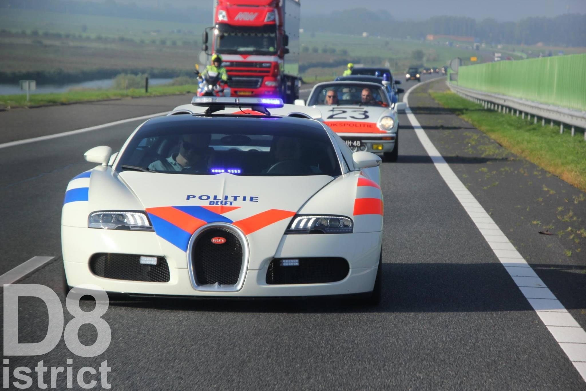 Dit is de enige echte Nederlandse politie Bugatti Veyron ...