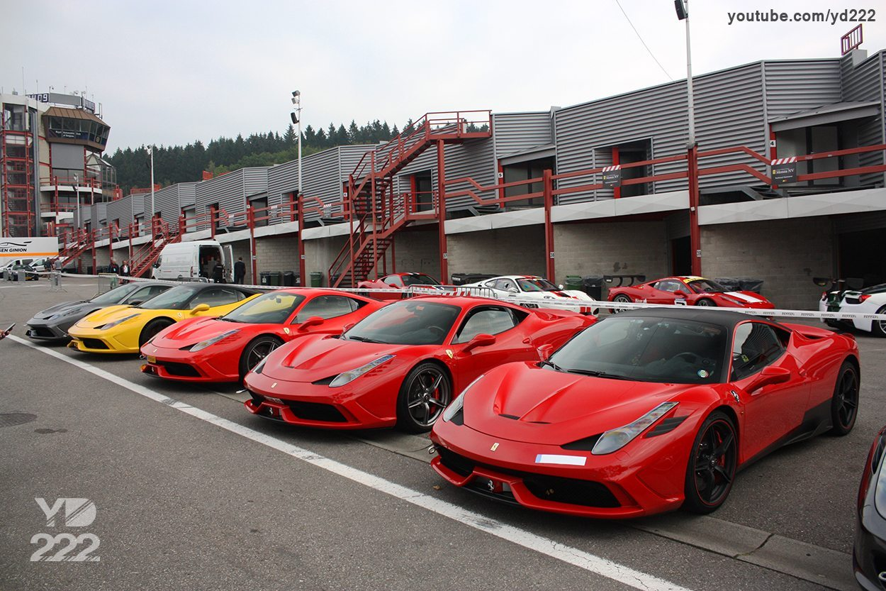 ferrari owners days spa francorchamps. Black Bedroom Furniture Sets. Home Design Ideas