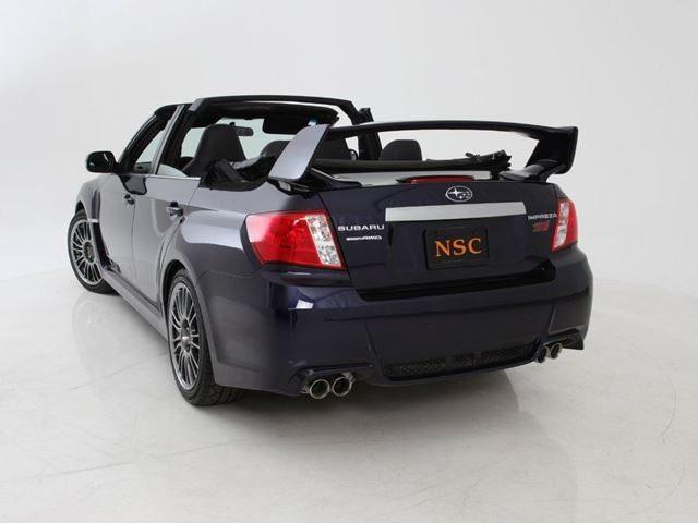 Subaru Impreza STI Convertible