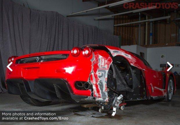 Ferrari Enzo Crash