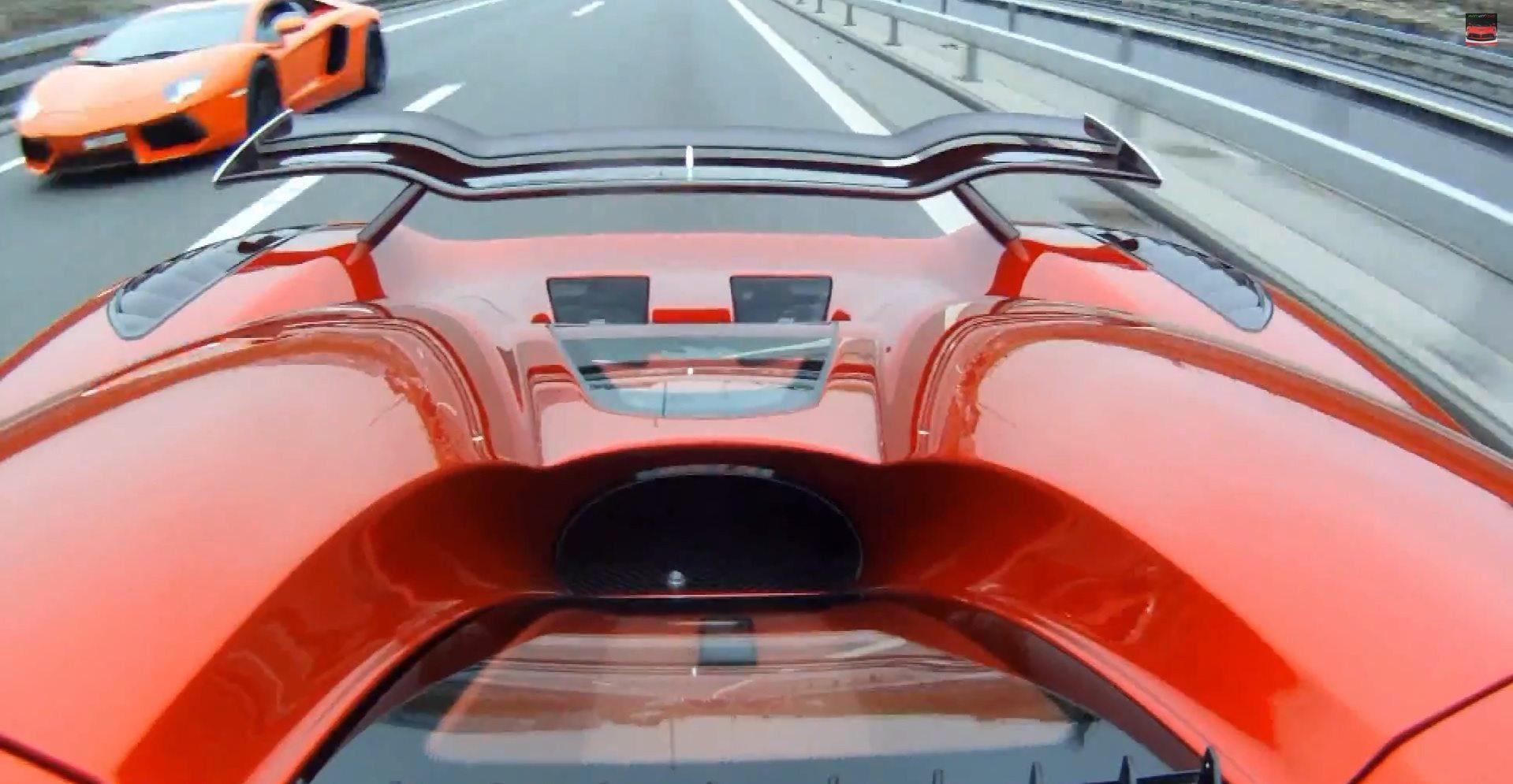 Koenigsegg Agera R & Lamborghini Aventador