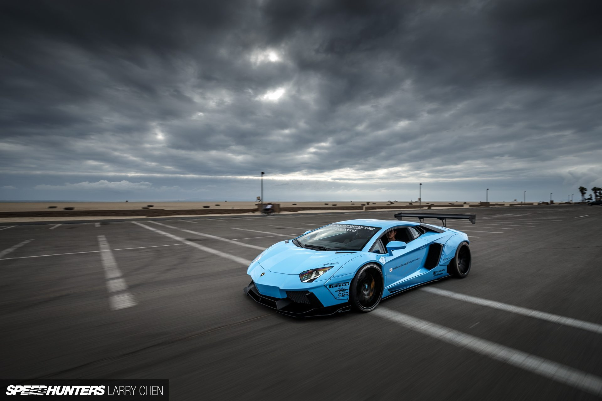 Wallpapers Lamborghini Aventador by Liberty Walk
