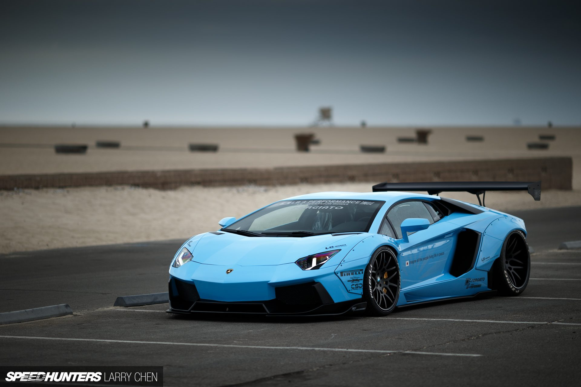 Wallpapers: Lamborghini Aventador by Liberty Walk ...