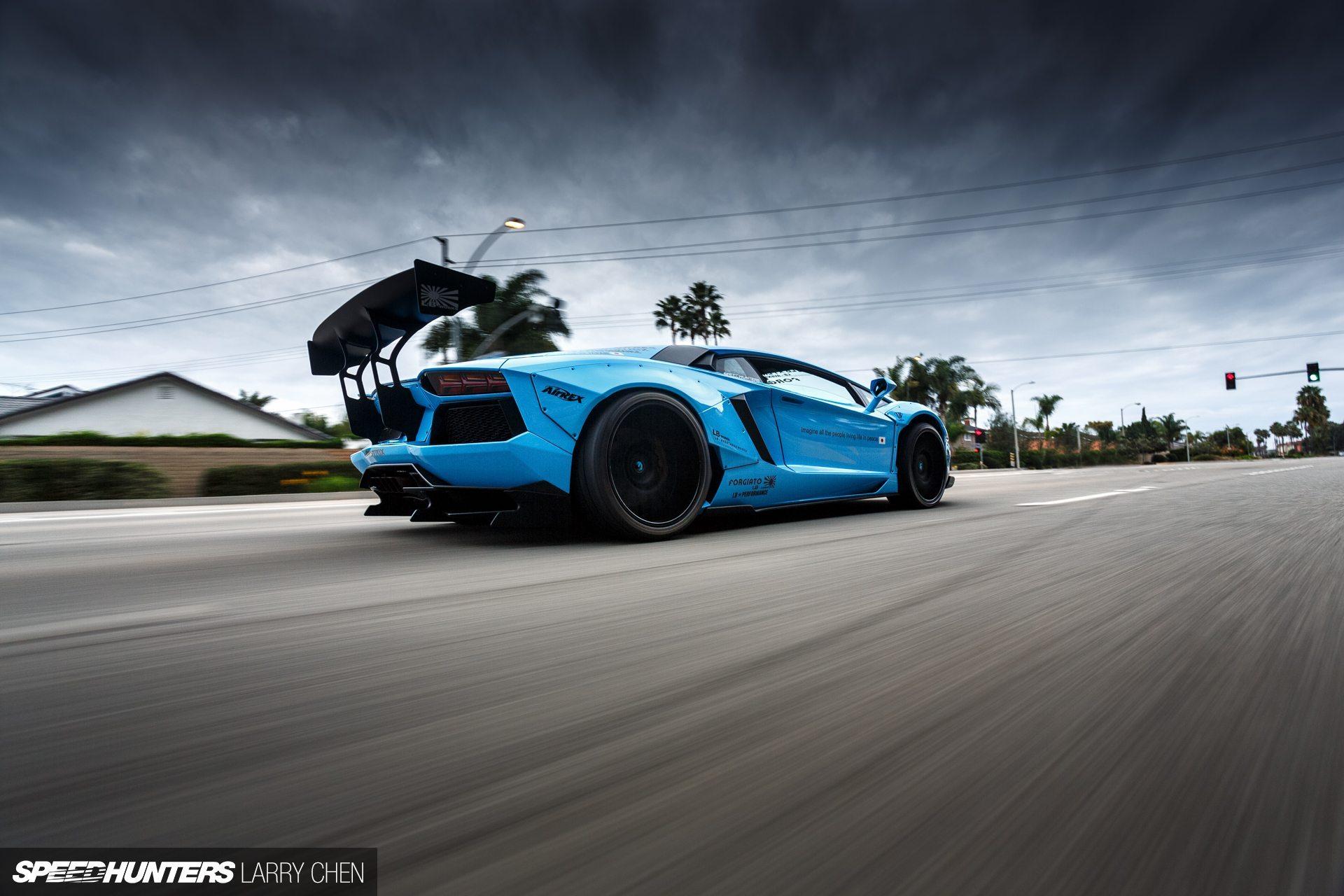 Wallpapers: Lamborghini Aventador by Liberty Walk ...