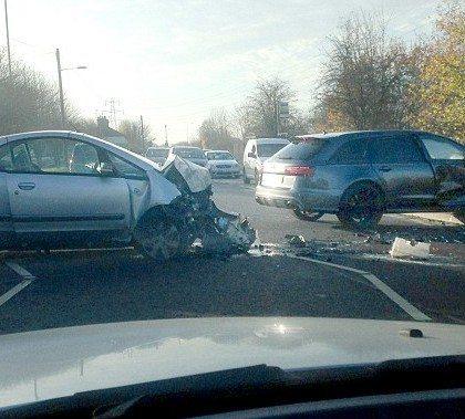 David Beckham Audi RS6 Crash