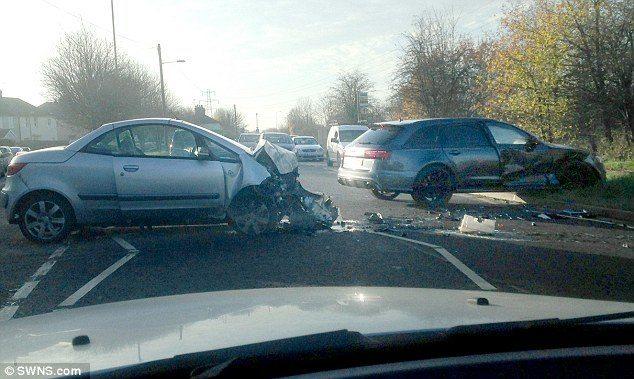 David Beckham Crasht Met Audi Rs6 Hartvoorautos Nl