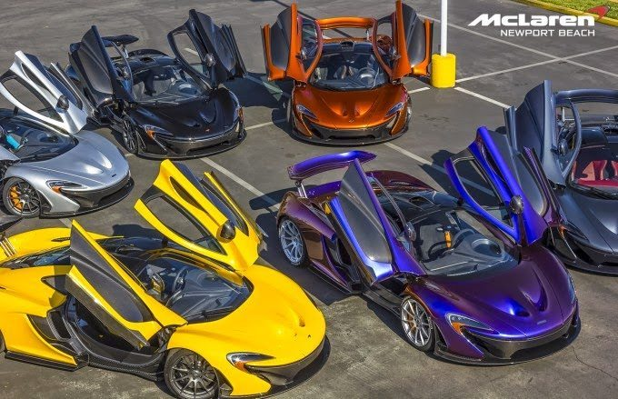 6x McLaren P1