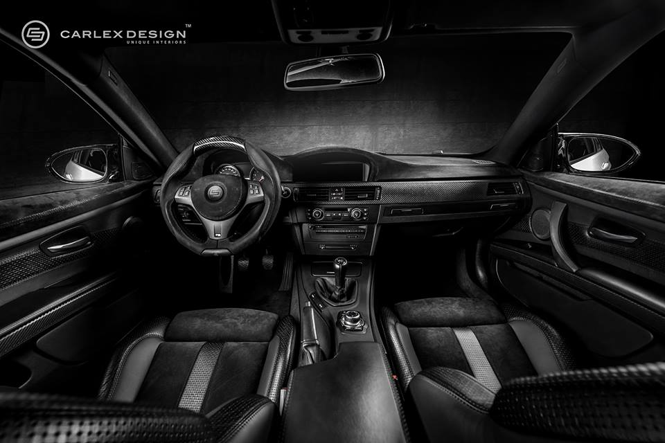 BMW M3 Black Spinell - Carlex Design
