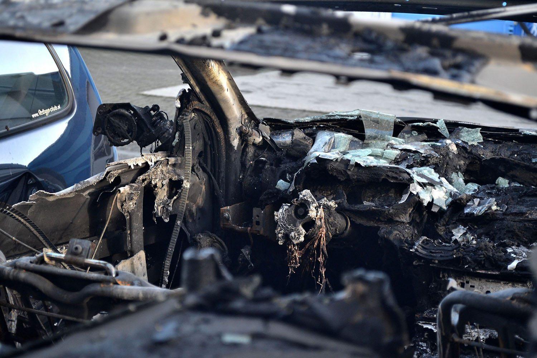 BMW M6 slachtoffer van vuurwerkvandalen