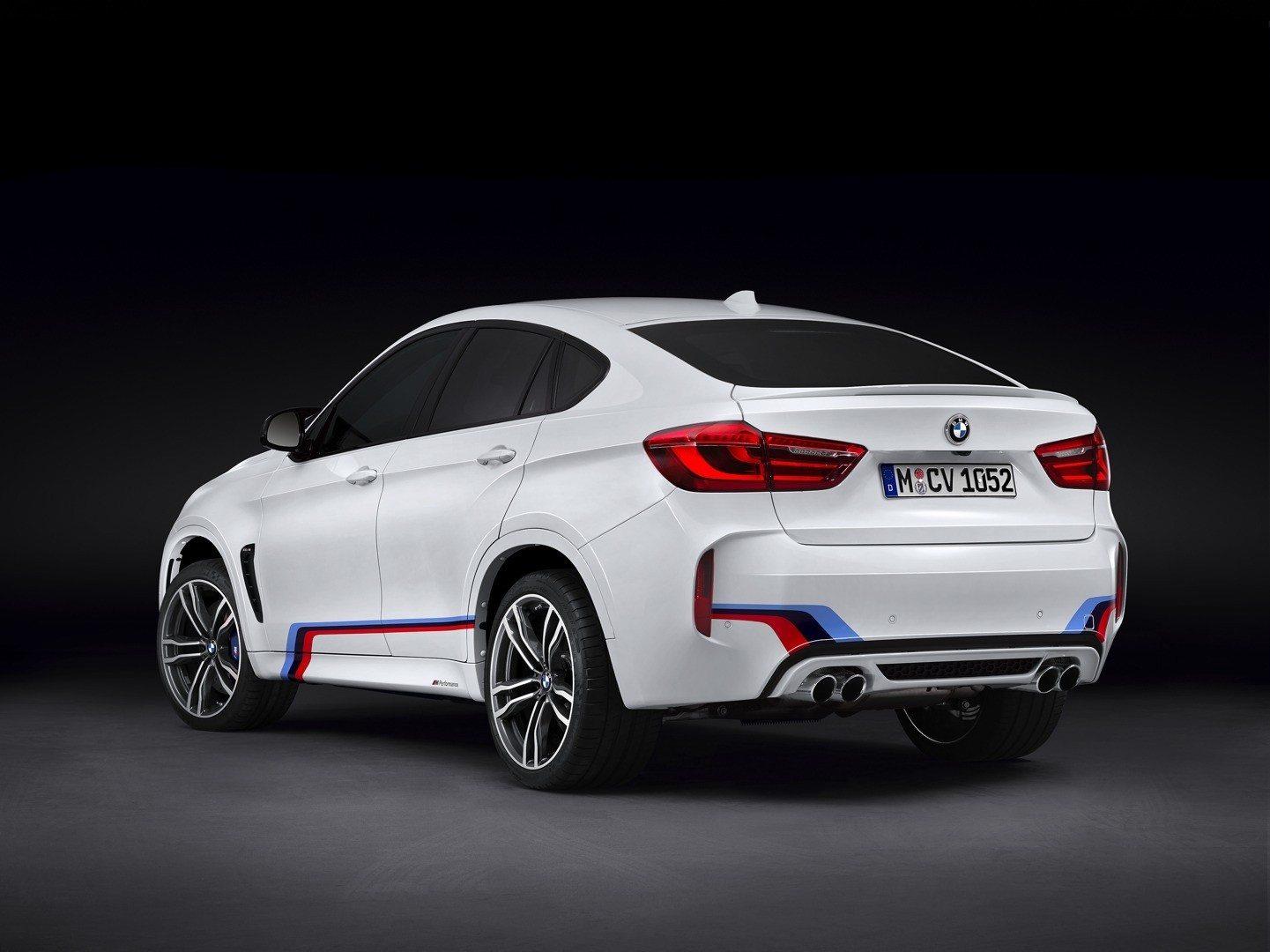 BMW X6 M - M Performance Parts
