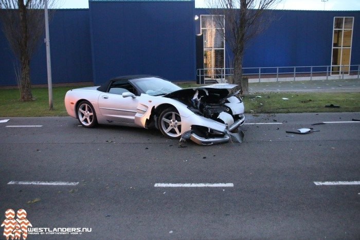 Corvette C5 Crash