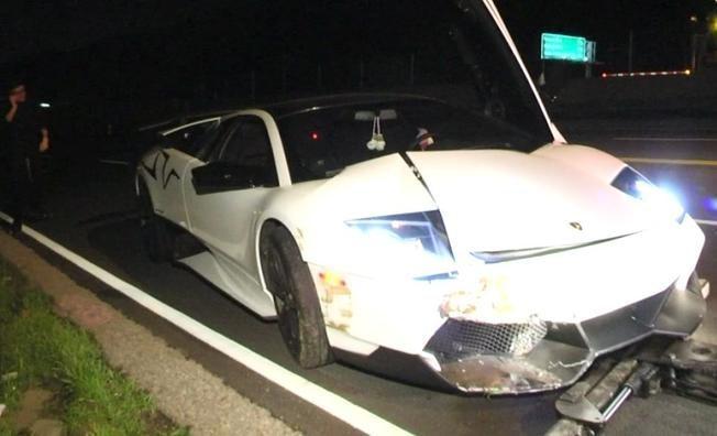 Lamborghini Murciélago LP670-4 Super Veloce Crash