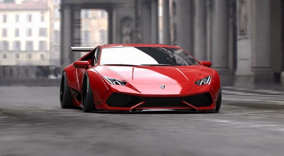 Liberty Walk Lamborghini Huracán