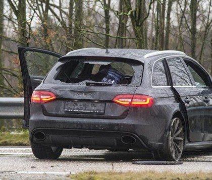 Audi RS4 Plofkraak Breda/Turnhout
