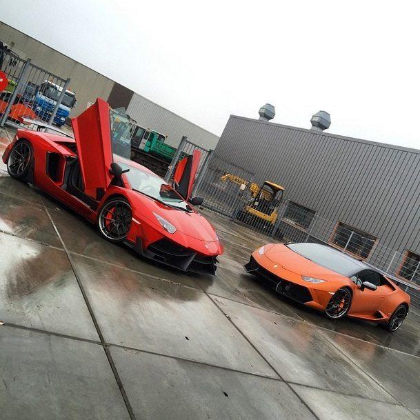 Lamborghini Aventador Edizione GT &  DMC Lamborghini Huracan Stage 2