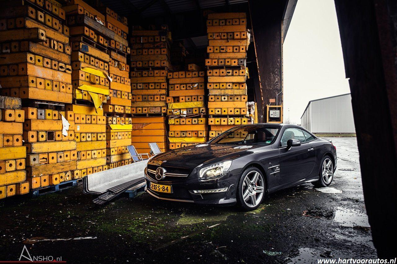 Mercedes-Benz SL63 AMG - www.hartvoorautos.nl