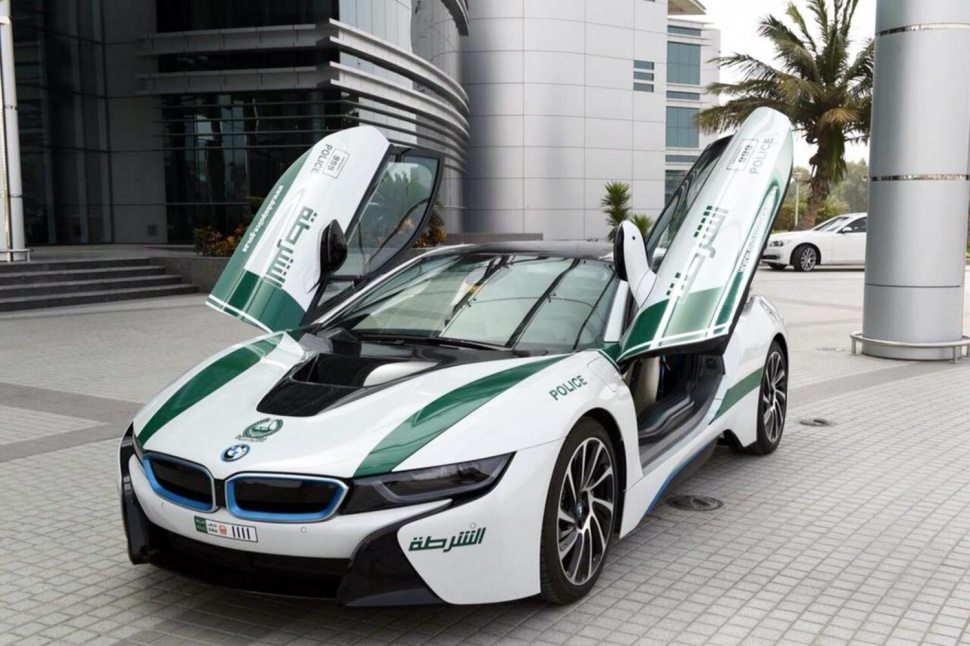 BMW i8 Dubai Police
