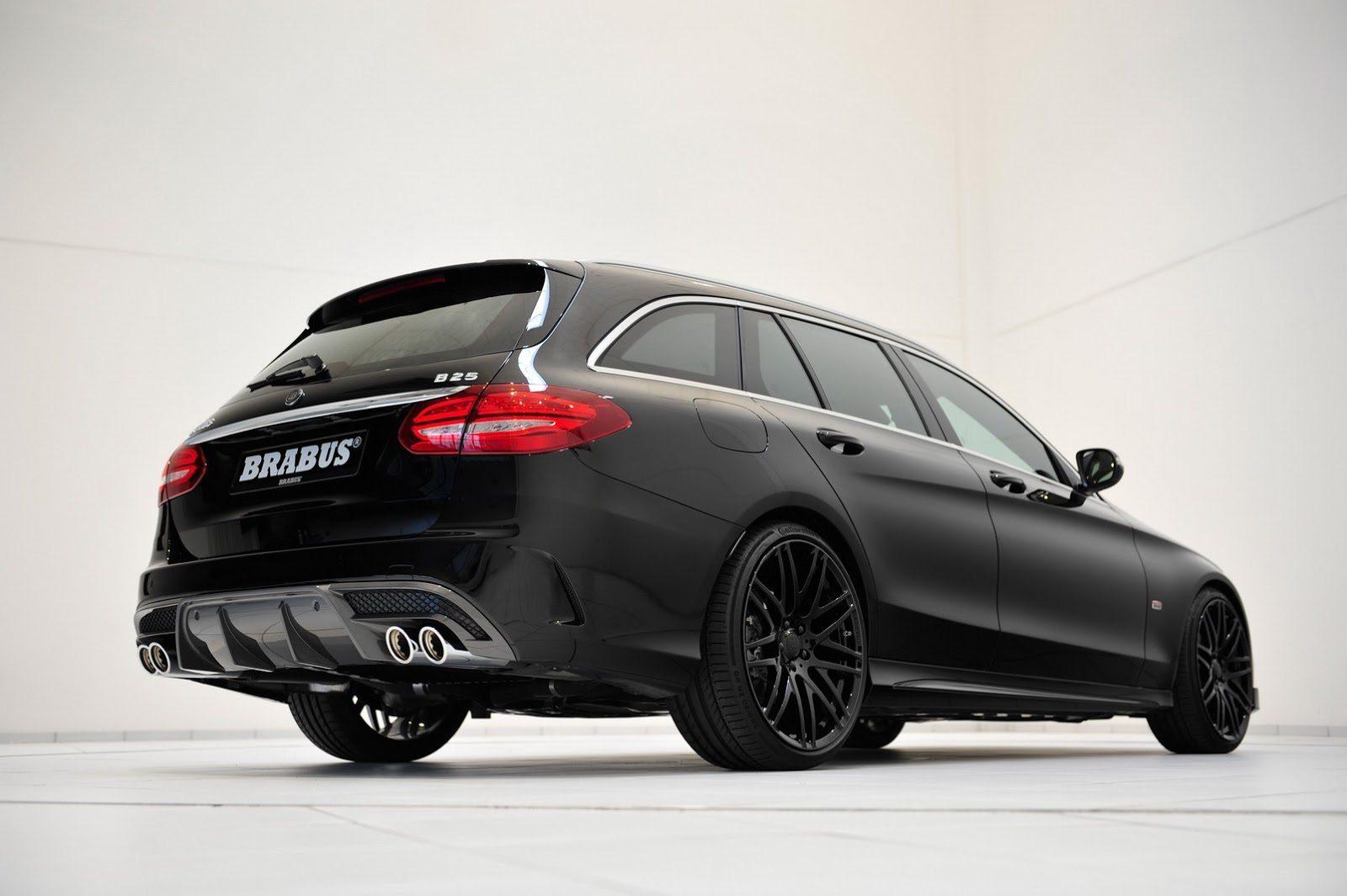 Brabus Sleutelt Aan De Mercedes Benz C Klasse Estate