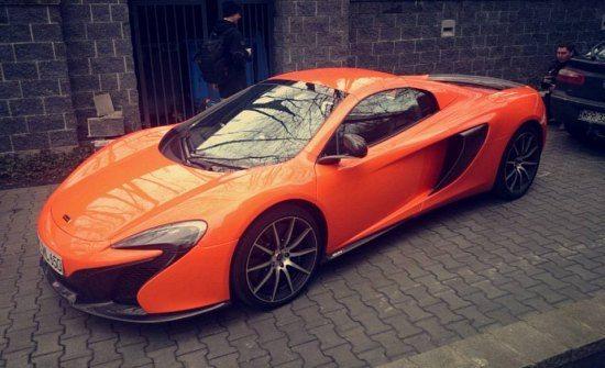 McLaren 650S Crash