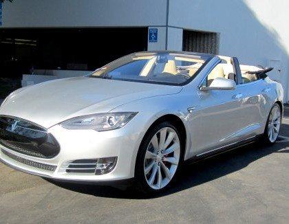 Tesla Model S Cabriolet