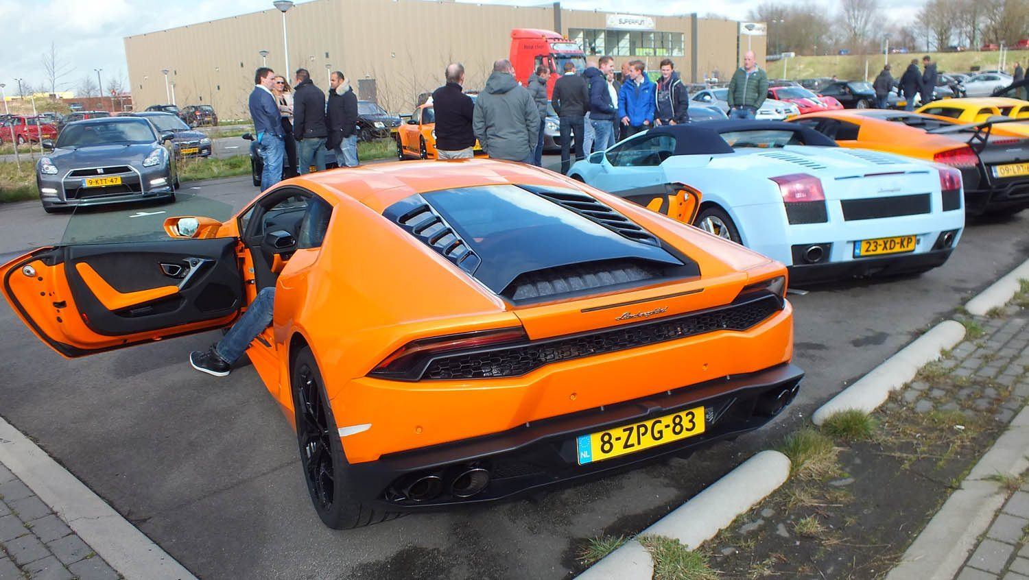 Fast and Furious 7 Première in Amersfoort