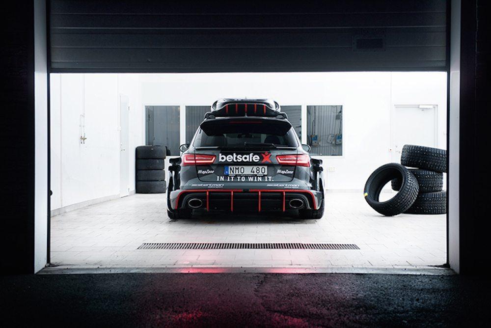 Jon Olsson Audi RS6 DTM