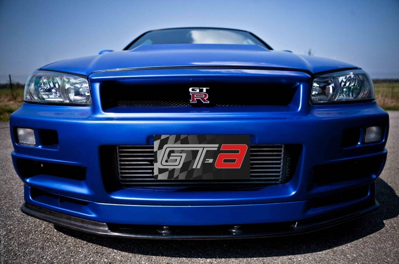paul walker 39 s nissan skyline r34 gt r weer in de verkoop. Black Bedroom Furniture Sets. Home Design Ideas