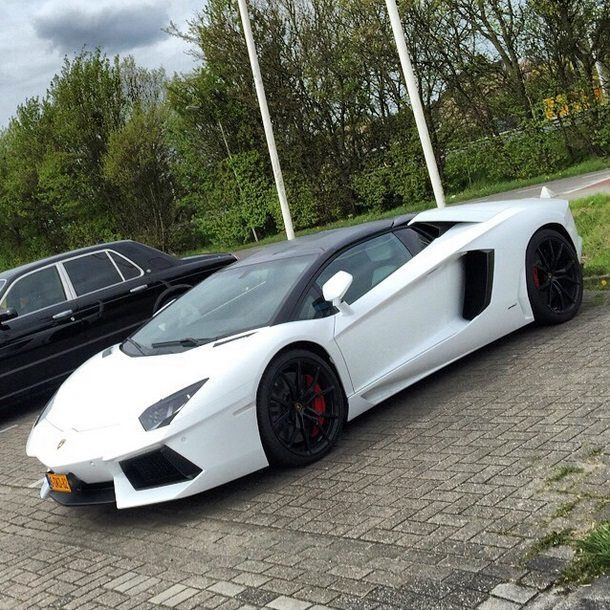 Afrojack Lamborghini Aventador
