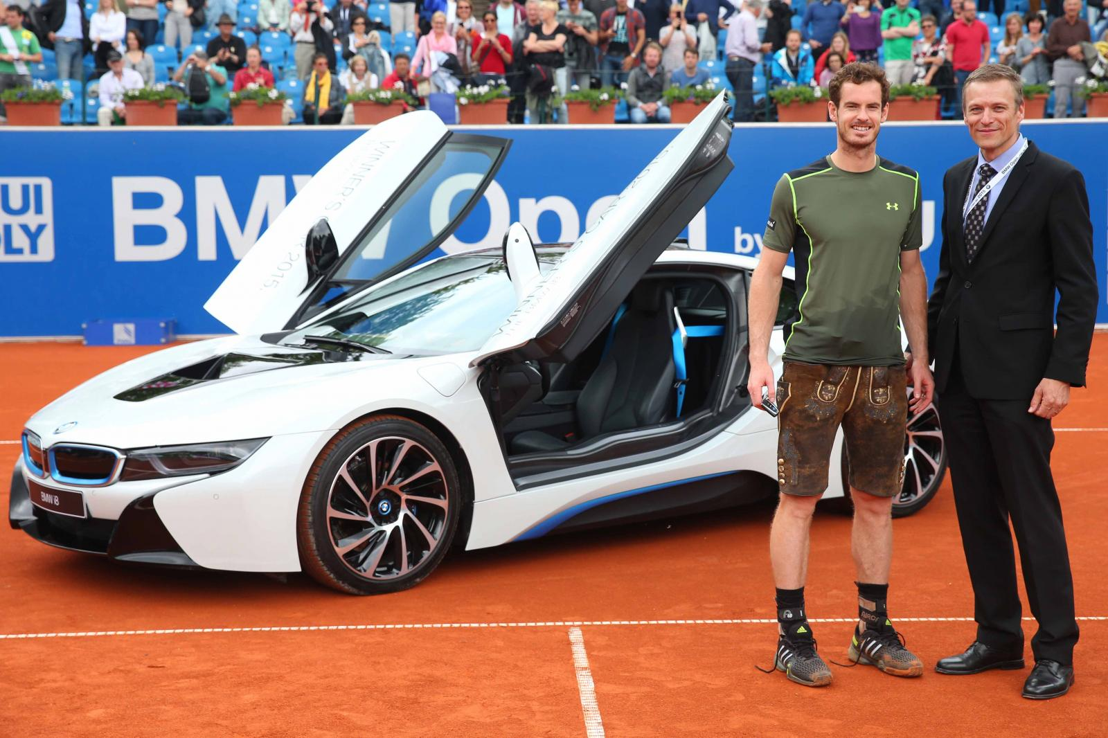 Andy Murray BMW i8