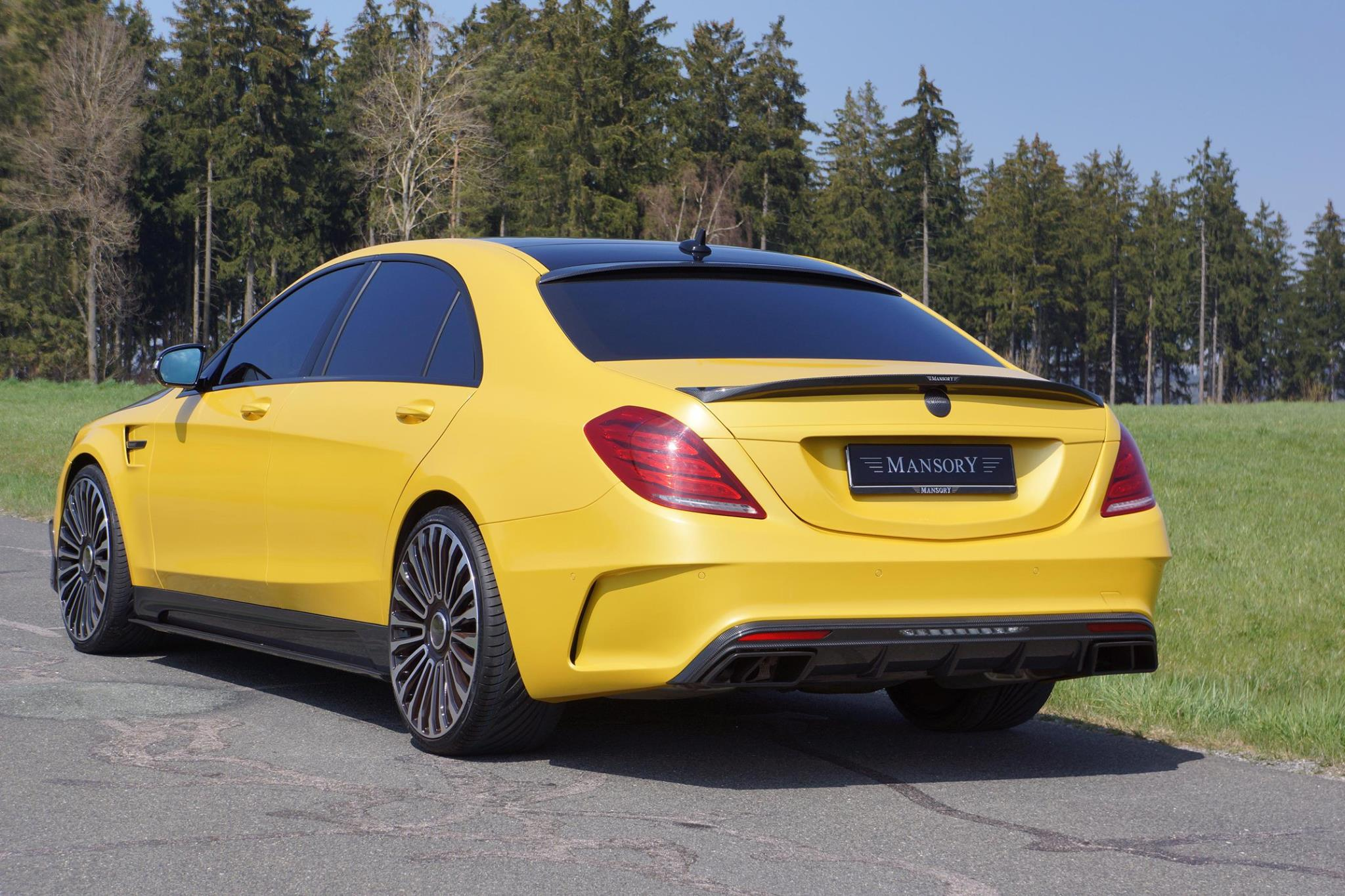Mansory Mercedes S63 AMG Bumblebee Edition