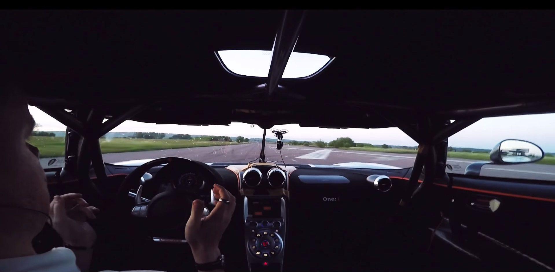 Koenigsegg One:1 Record