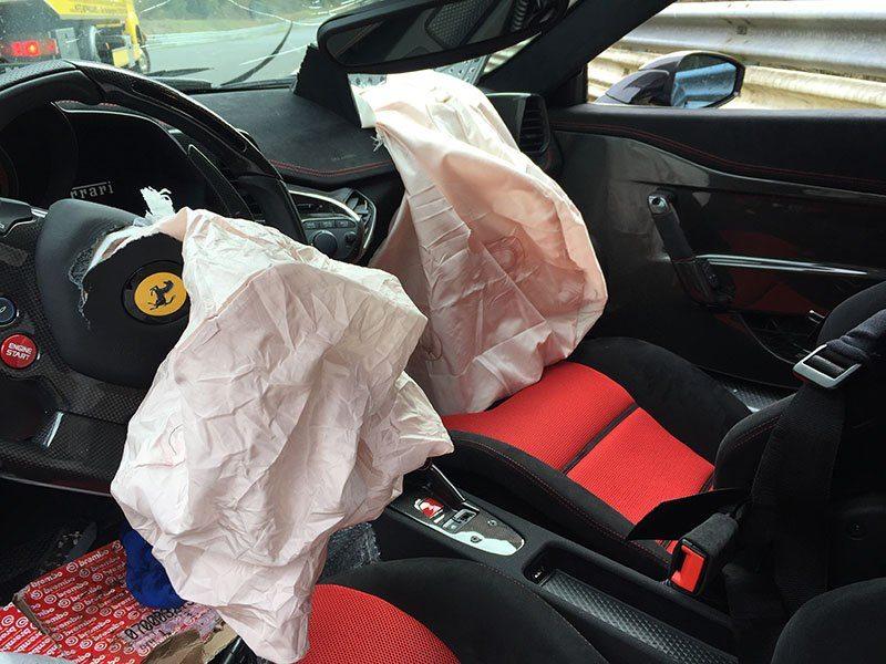 Ferrari 458 Speciale Crash Nurburgring