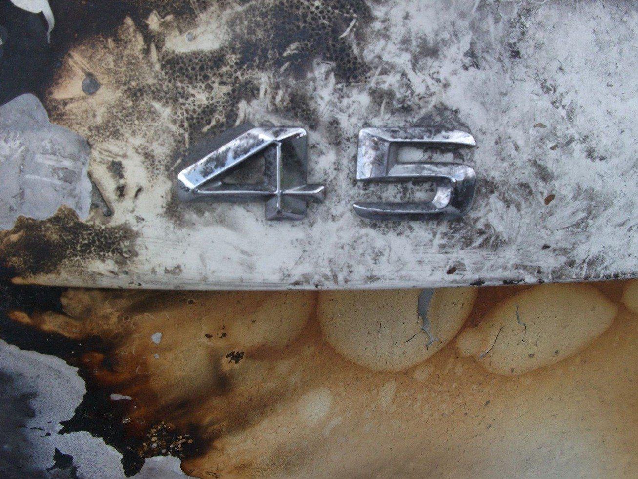Wrecked Mercedes-Benz A45 AMG