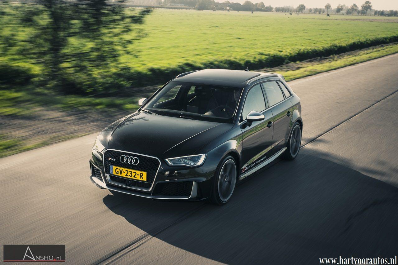 Audi RS3 Sportback - Hartvoorautos.nl