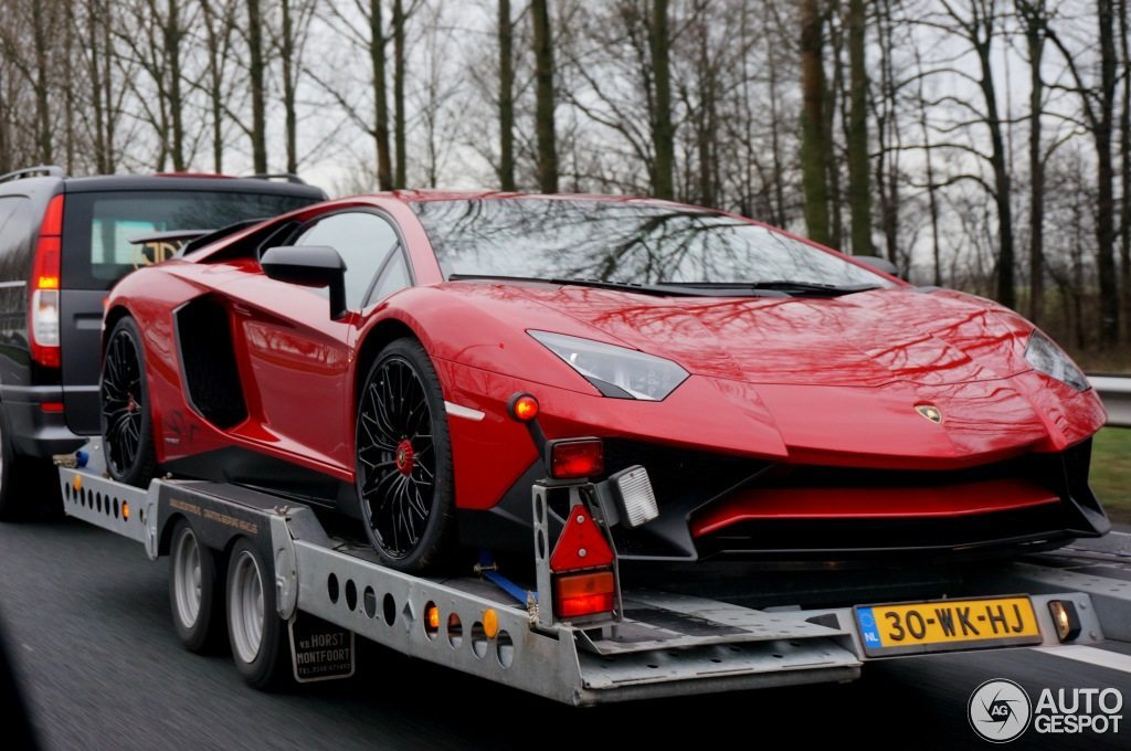Afrojack Lamborghini Aventador SV - Hartvoorautos.nl