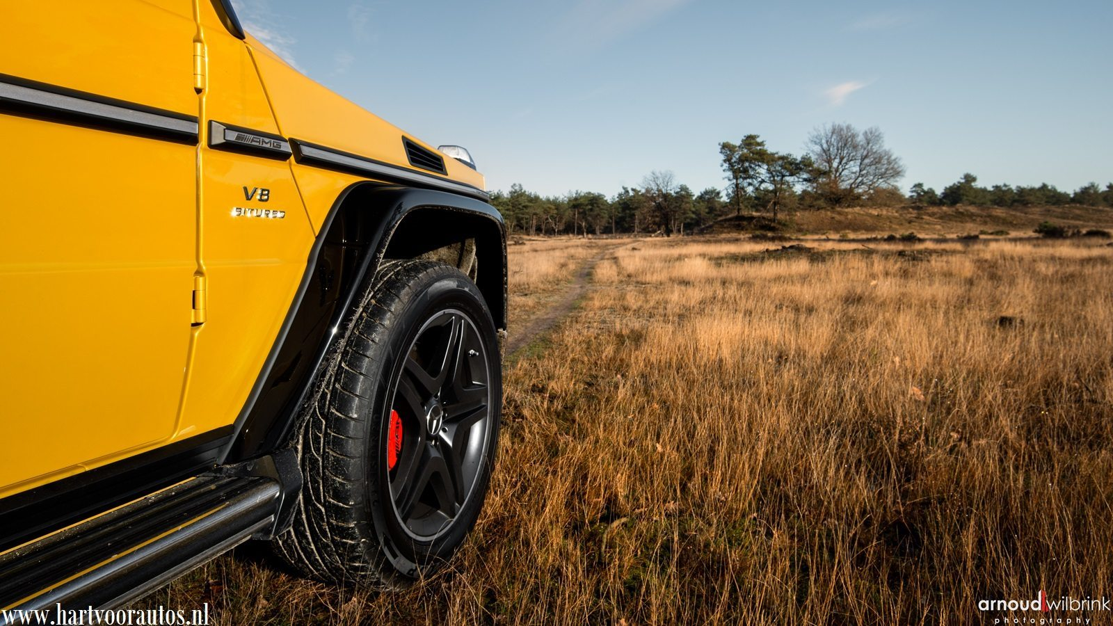 Mercedes-Benz G 63 AMG - Hartvoorautos.nl