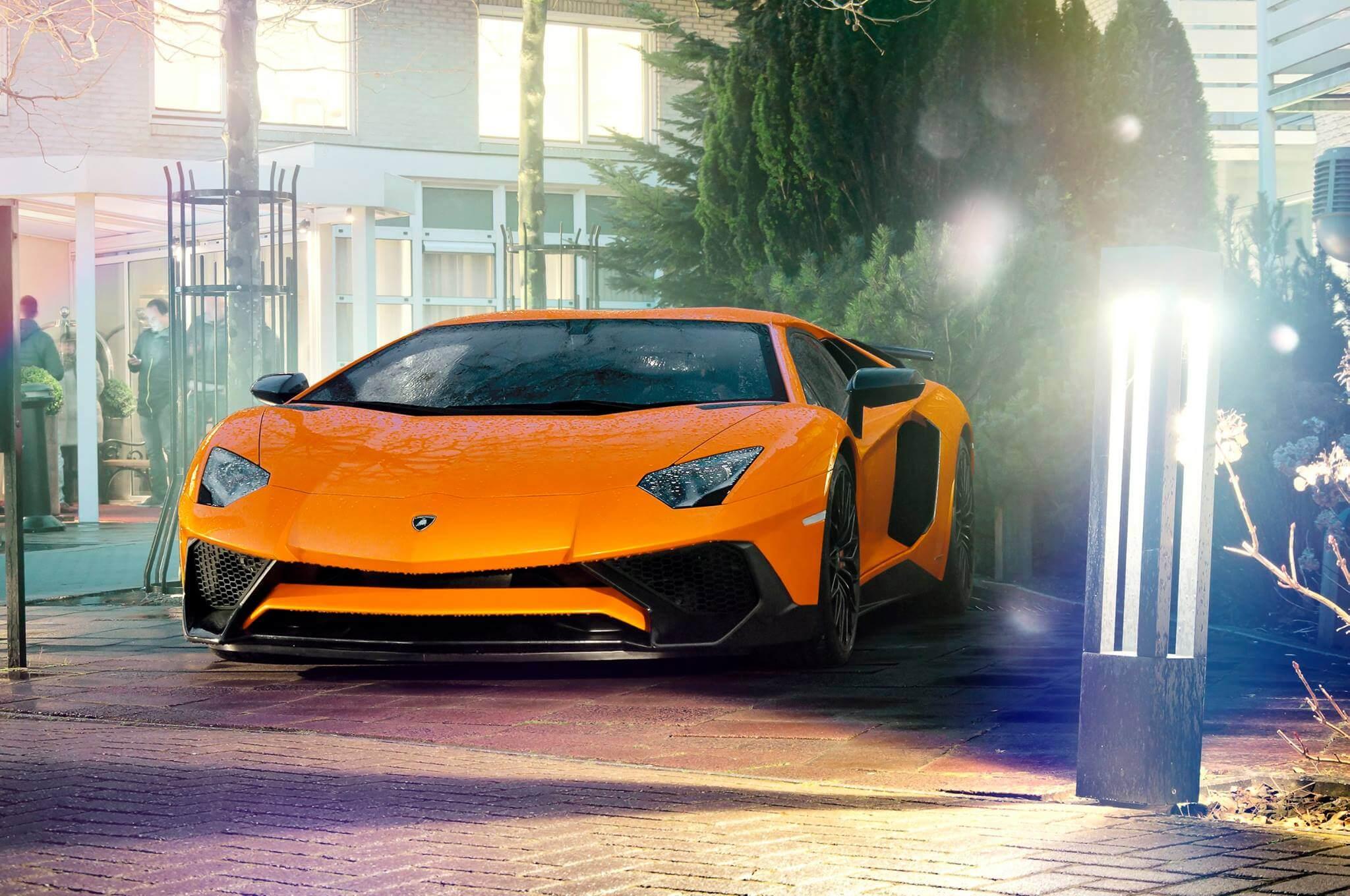 Lamborghini Aventador LP750-4 SuperVeloce -