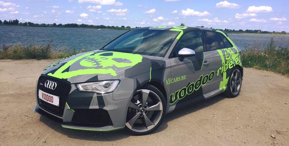 Audi RS3 Voodoo Ride - Hartvoorautos.nl