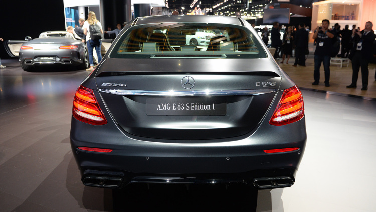 2018 Mercedes-AMG E63 S Edition 1