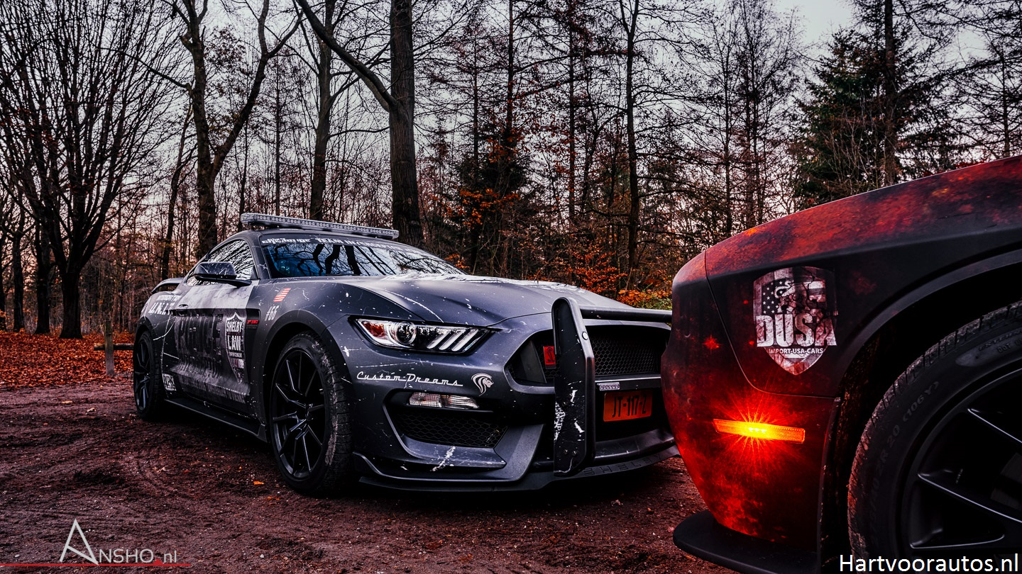 Ford Mustang Shelby GT350 vs Dodge Challenger SRT Hellcat