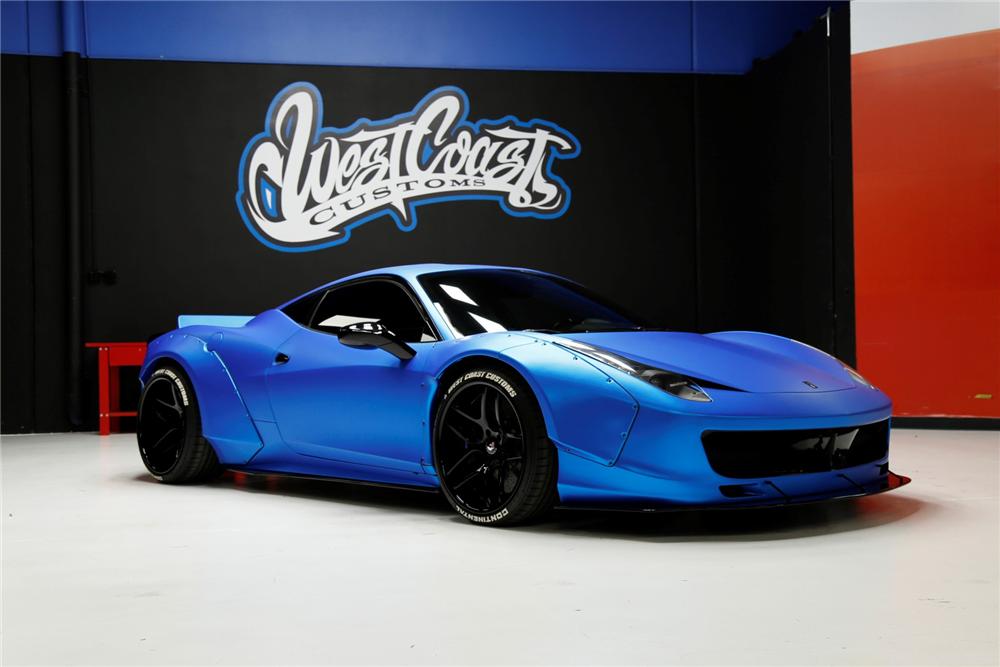 Ferrari 458 Justin Bieber