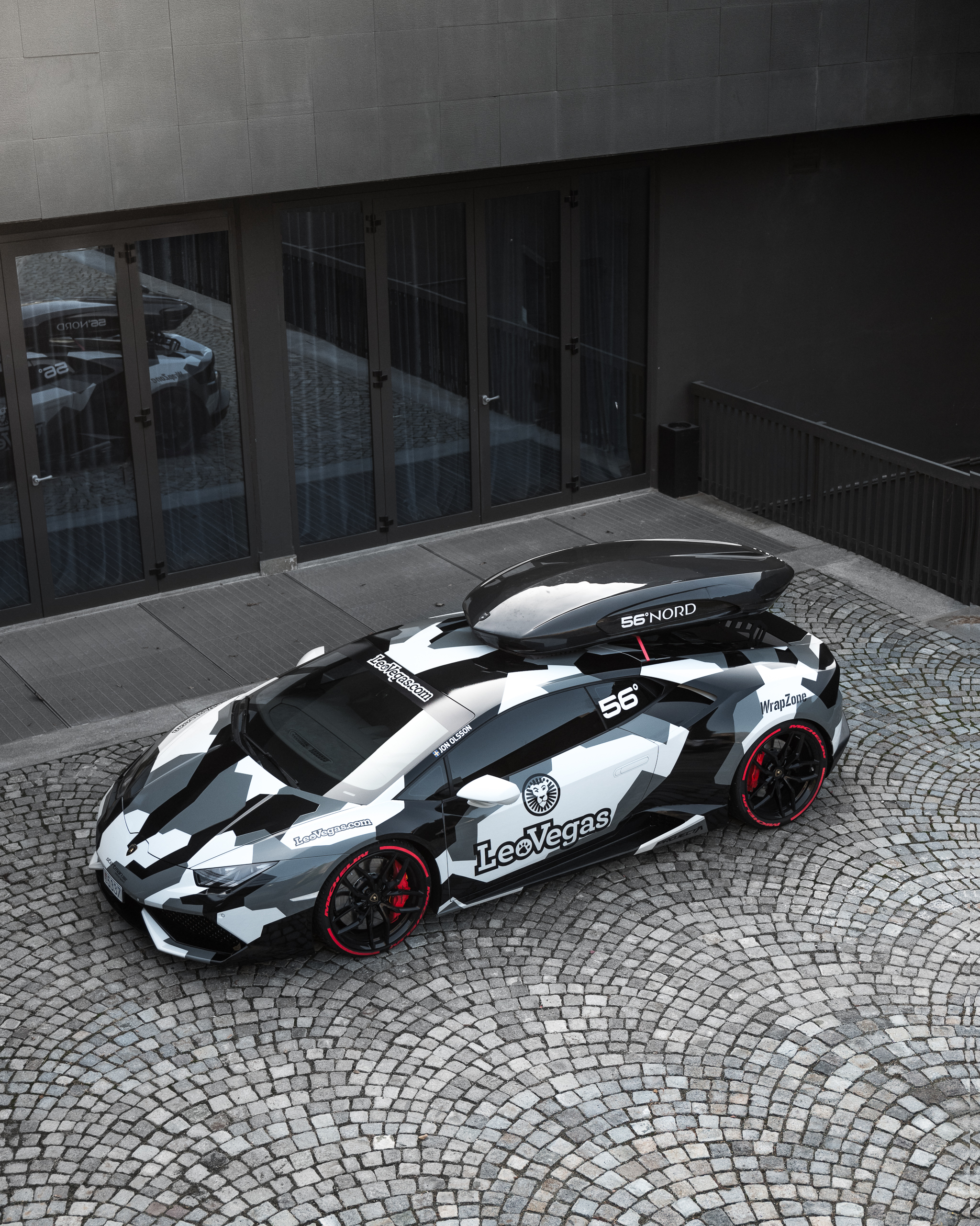 Jon Olsson Lamborghini Huracan LP610-4