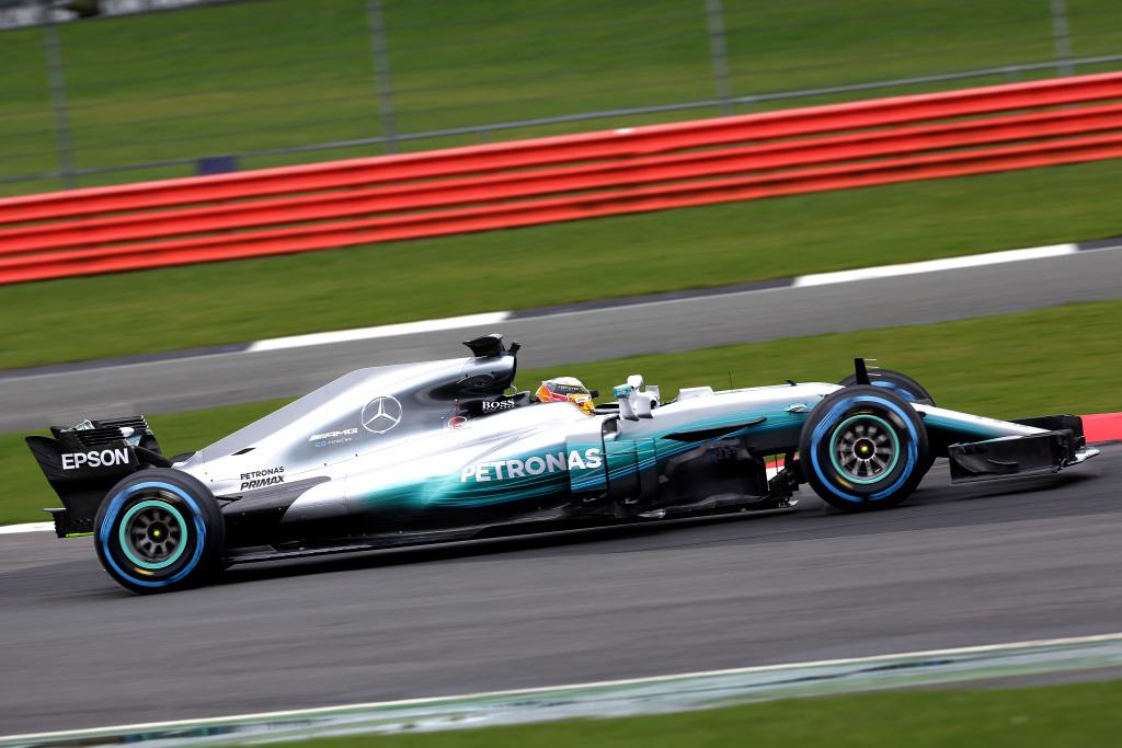 Mercedes-AMG Petronas W08