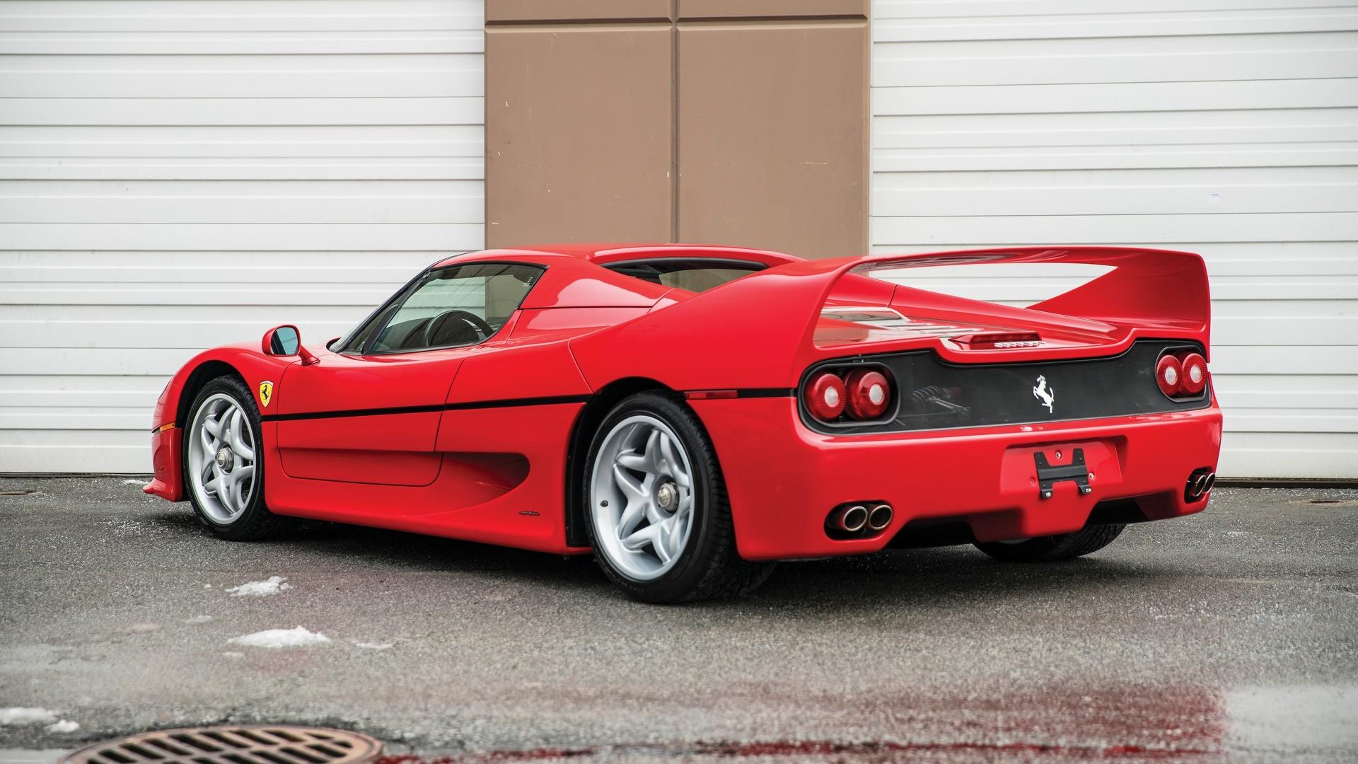 Ferrari F50 Mike Tyson