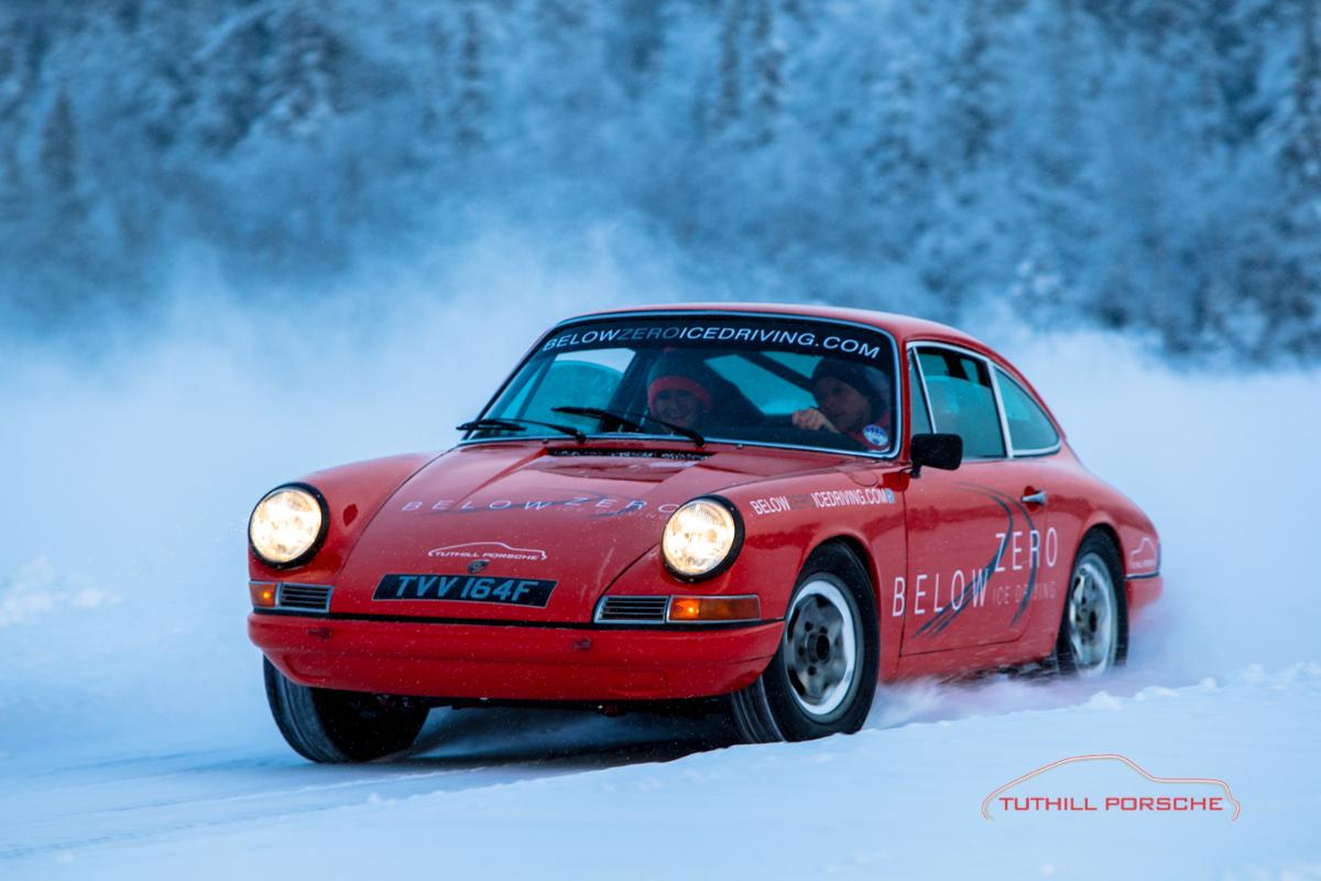 Porsche 911 Below Zero
