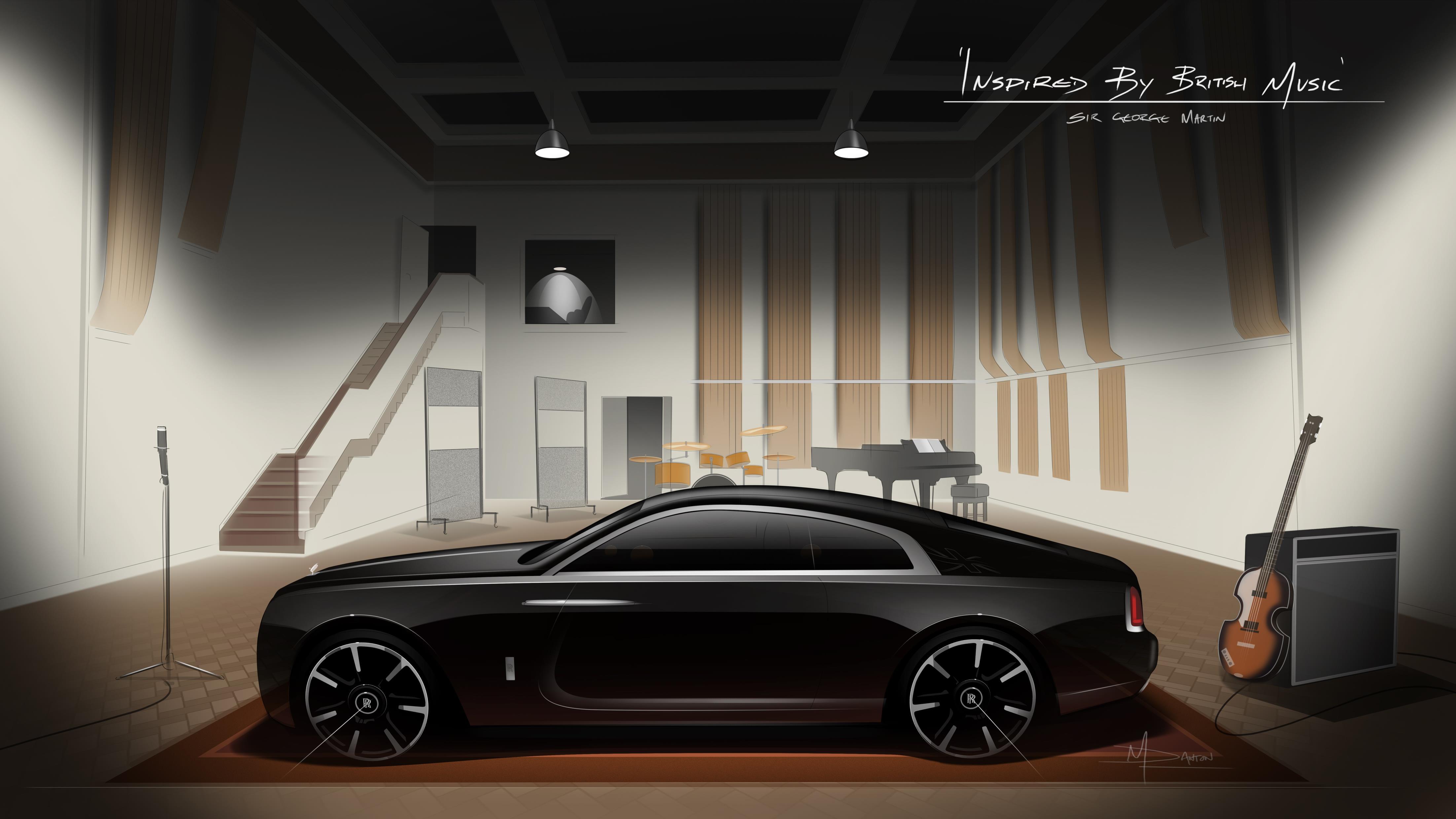Rolls-Royce Wraith Rocksterren