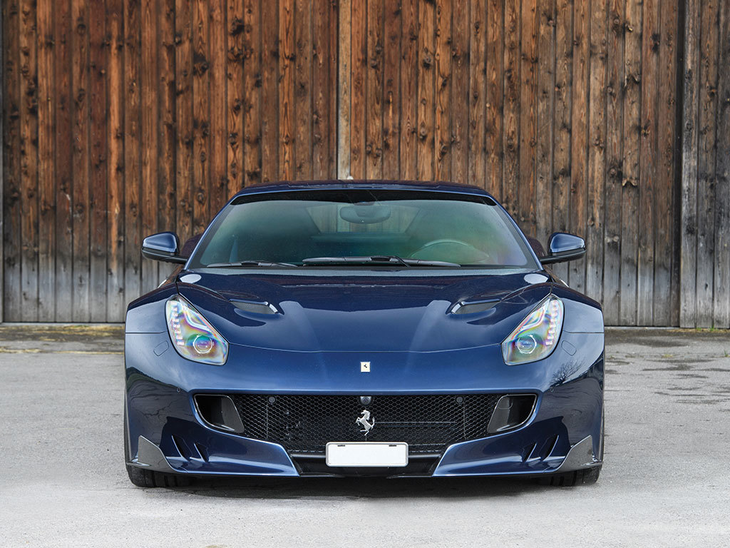 Ferrari F12tdf for auction