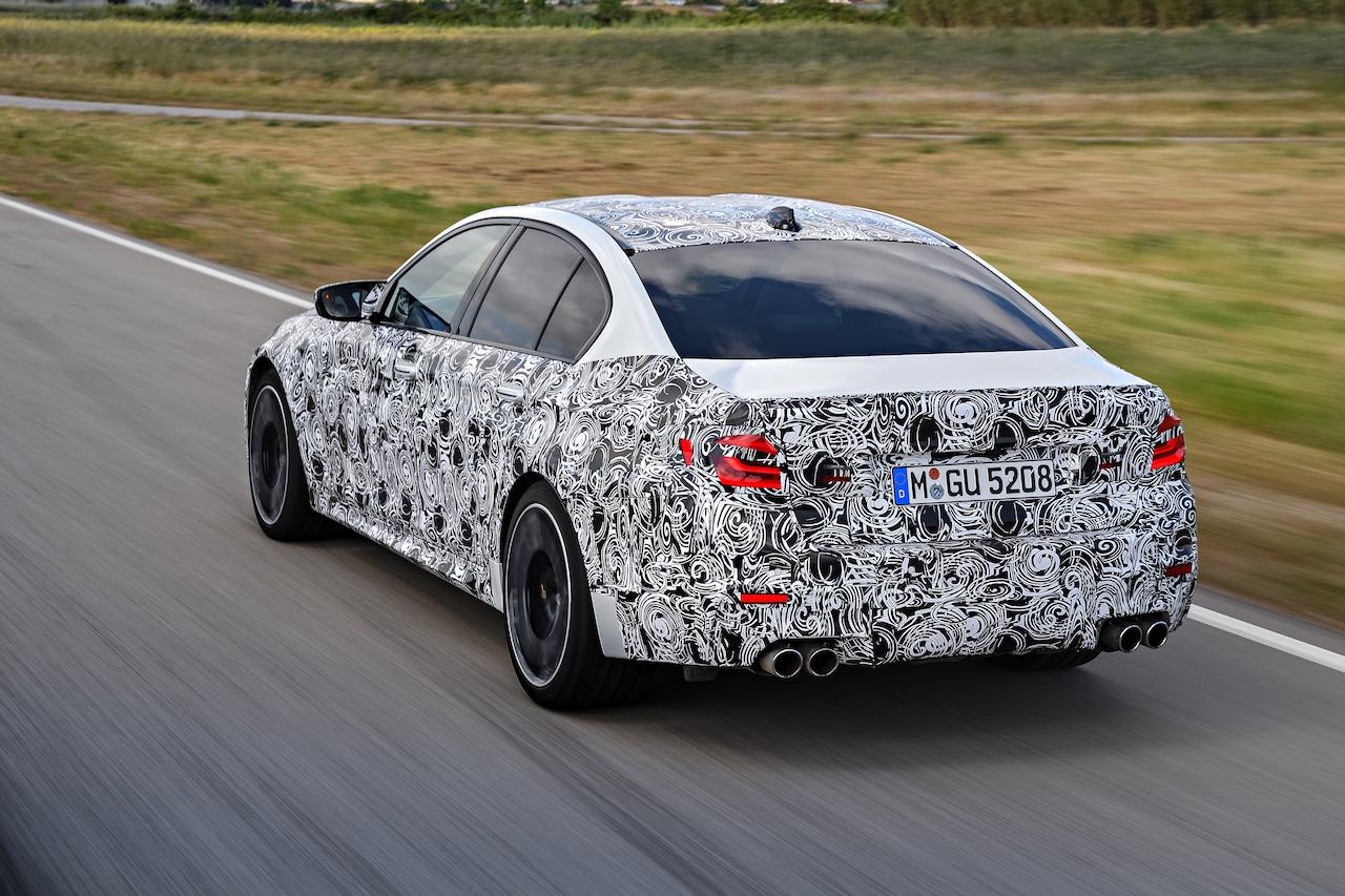 BMW M5 Spyshot